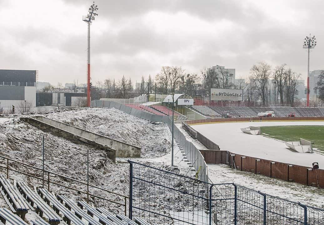 [Stadion Polonii] Koniec rozbiórki i przetargu
