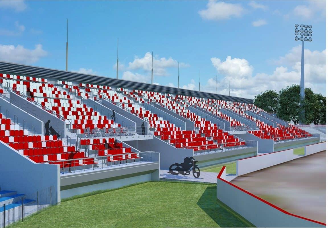 [Stadion Polonii] Umowa na budowę