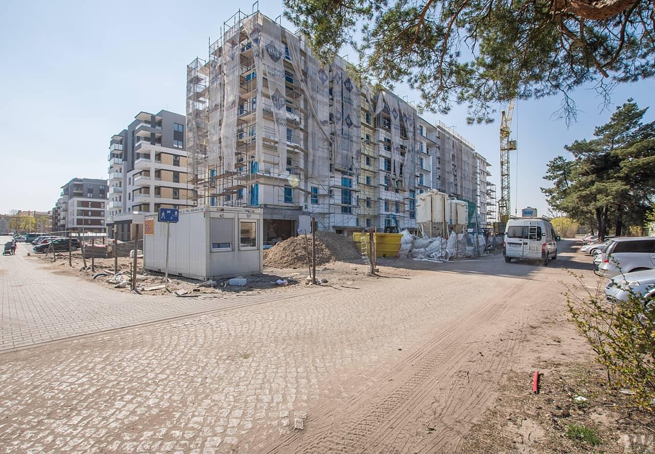 [Mieszkaniowy plac budowy] Okole, Zawisza – wiosna 2019