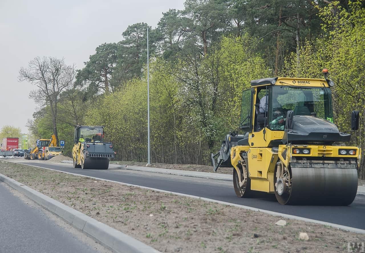 [Grunwaldzka] Nowy asfalt i wyburzenia