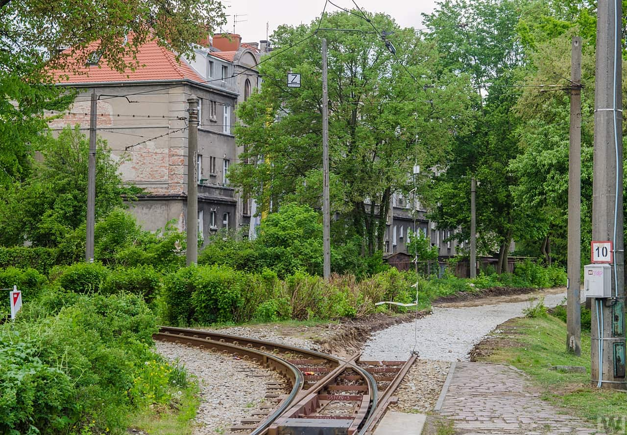 [Babia Wieś] Remont torów tramwajowych