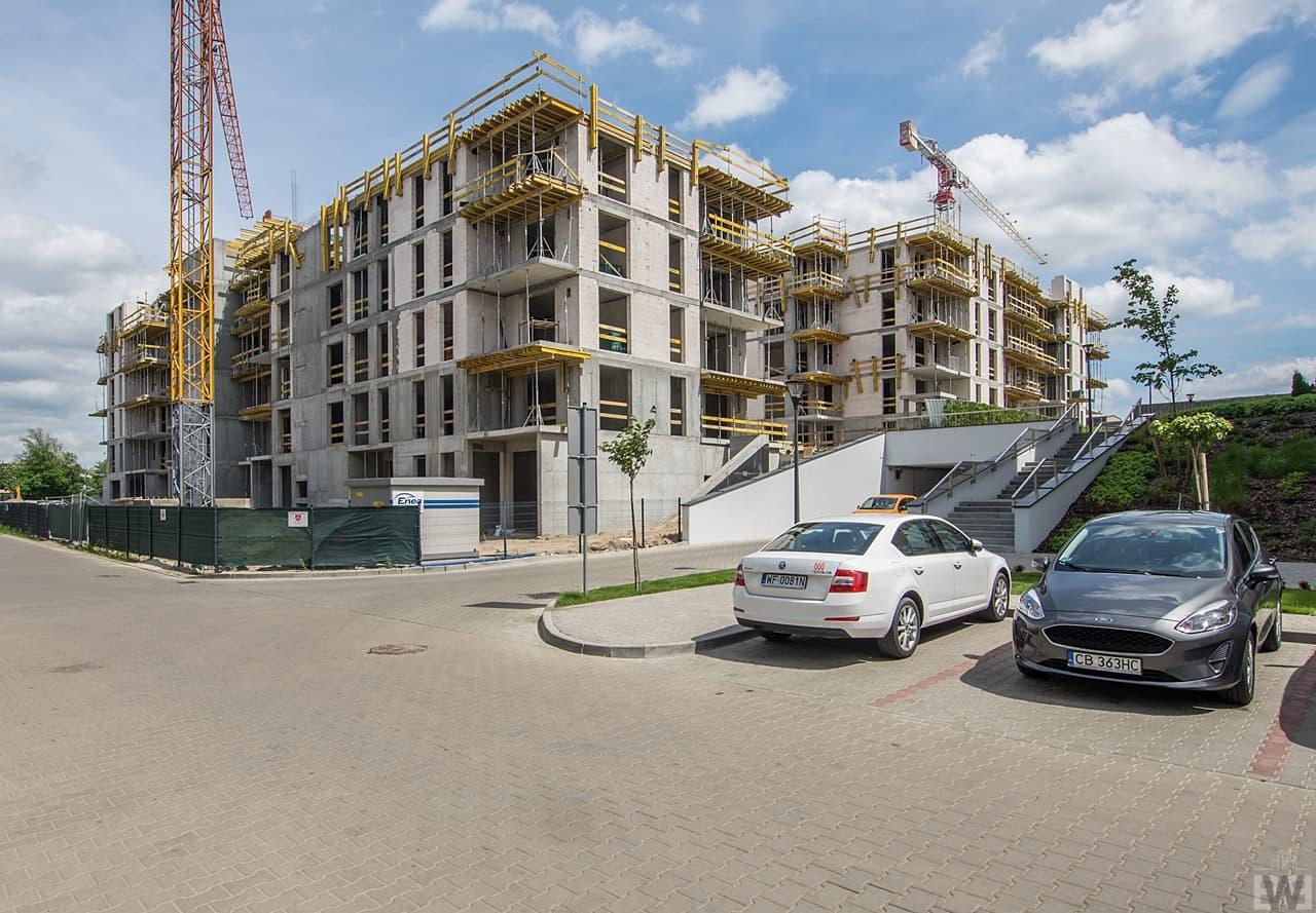 [Mieszkaniowy plac budowy] Śródmieście, Leśne – wiosna 2019