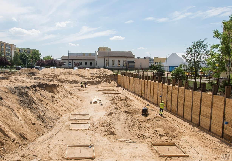 [Mieszkaniowy plac budowy] Fordon – wiosna 2019