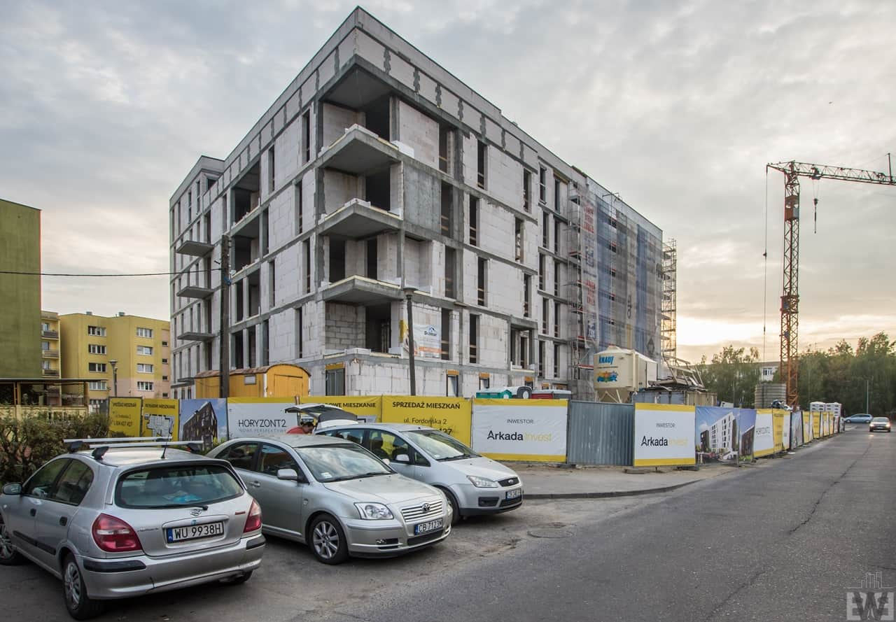 [Mieszkaniowy plac budowy] Jary, Górzyskowo, Wyżyny – jesień 2019