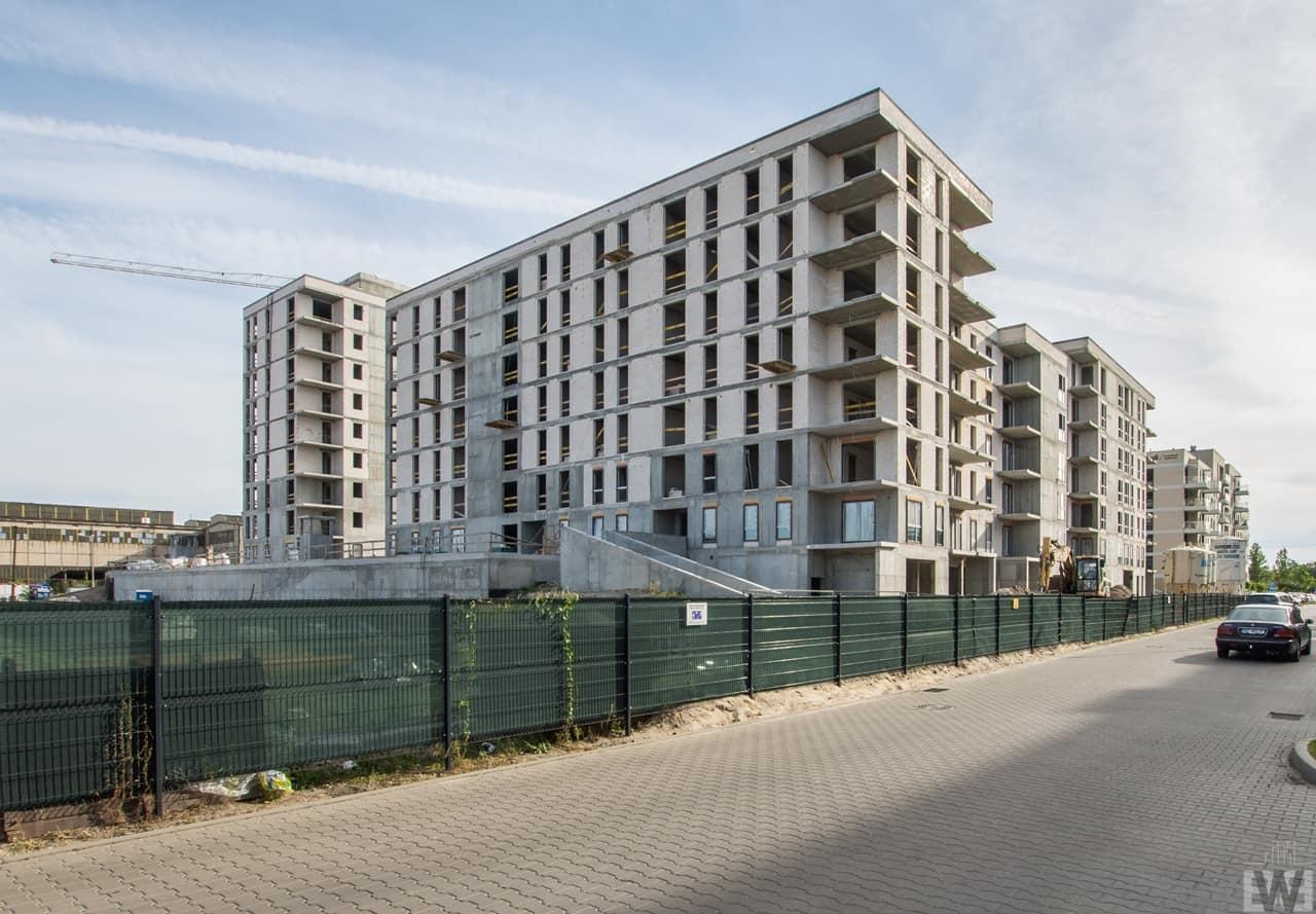[Mieszkaniowy plac budowy] Leśne, Bielawy – jesień 2019