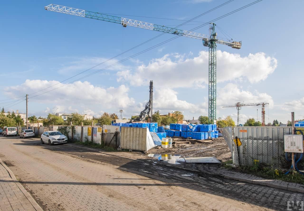 [Mieszkaniowy plac budowy] Szwederowo – jesień 2019