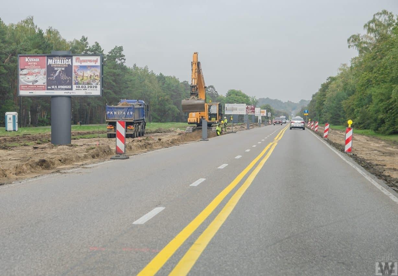 [Gdańska] Początek budowy buspasa
