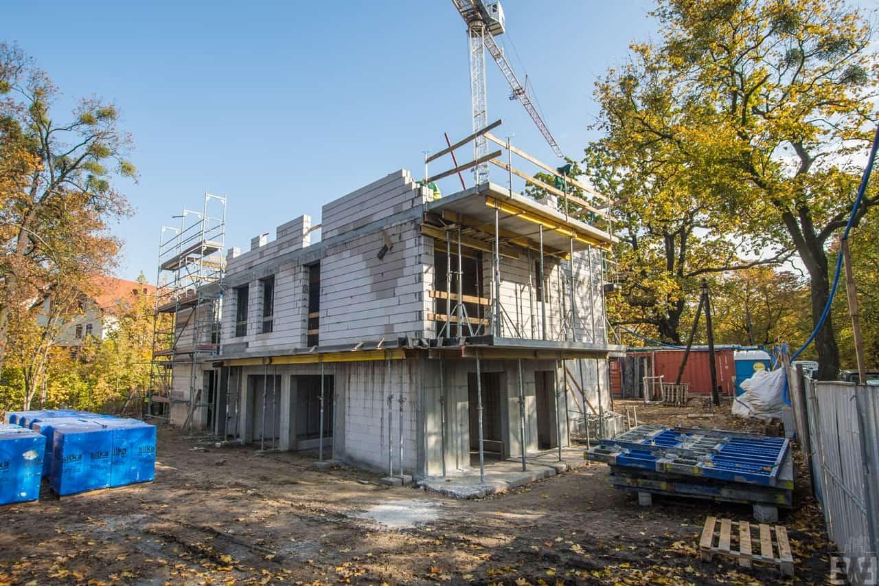[Mieszkaniowy plac budowy] Okole – jesień 2019