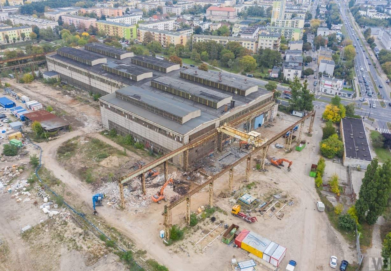 [Platanowy Park] Rozbiórka fabryki Makrum
