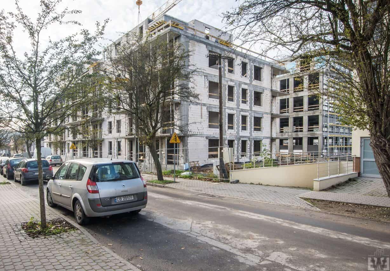 [Mieszkaniowy plac budowy] Skrzetusko, Kapuściska – jesień 2019