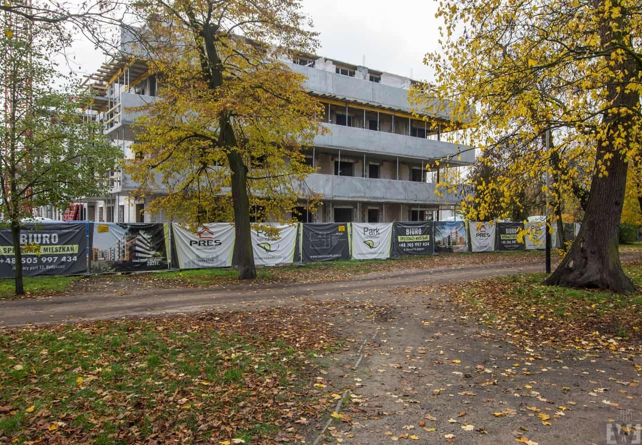 [Mieszkaniowy plac budowy] Wilczak, Miedzyń, Babia Wieś – jesień 2019