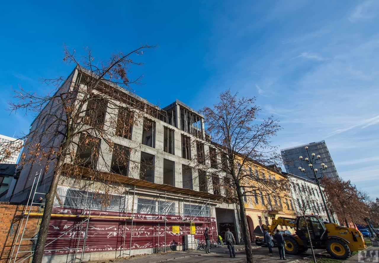 [Mieszkaniowy plac budowy] Śródmieście, Bocianowo – jesień 2019