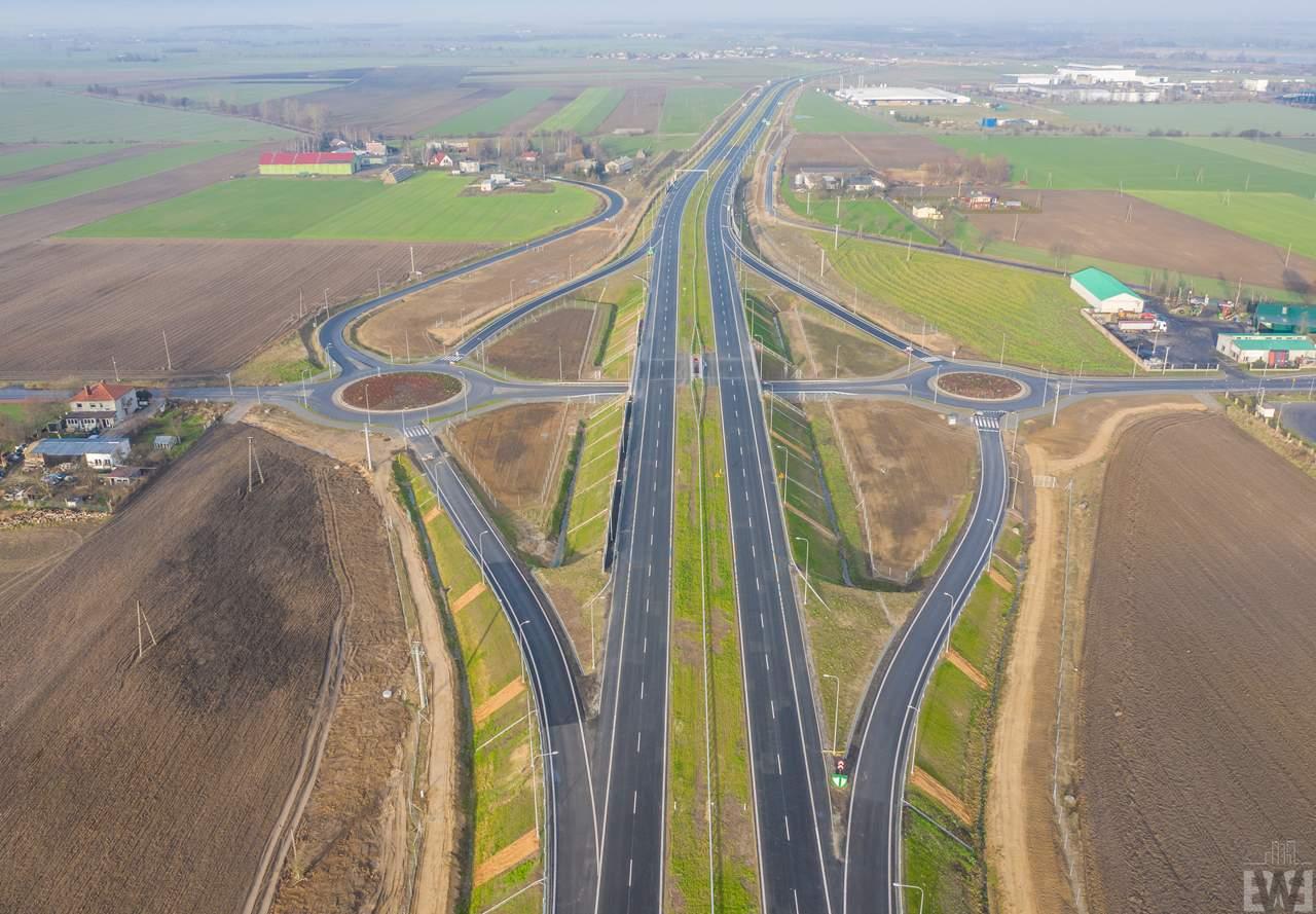 [S5] Koniec budowy odcinka Żnin – granica województwa