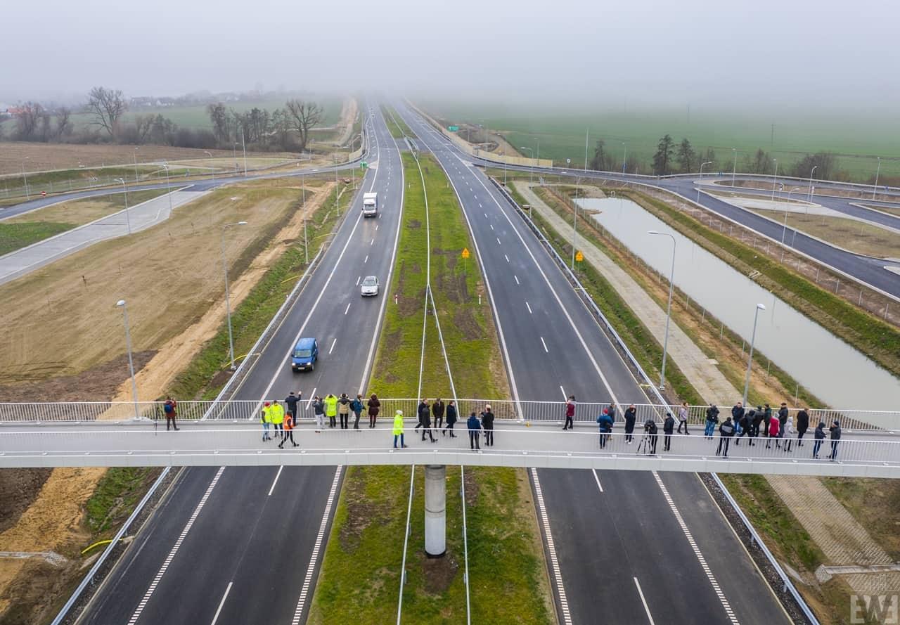 [S5] Odcinek Żnin – granica województwa otwarty