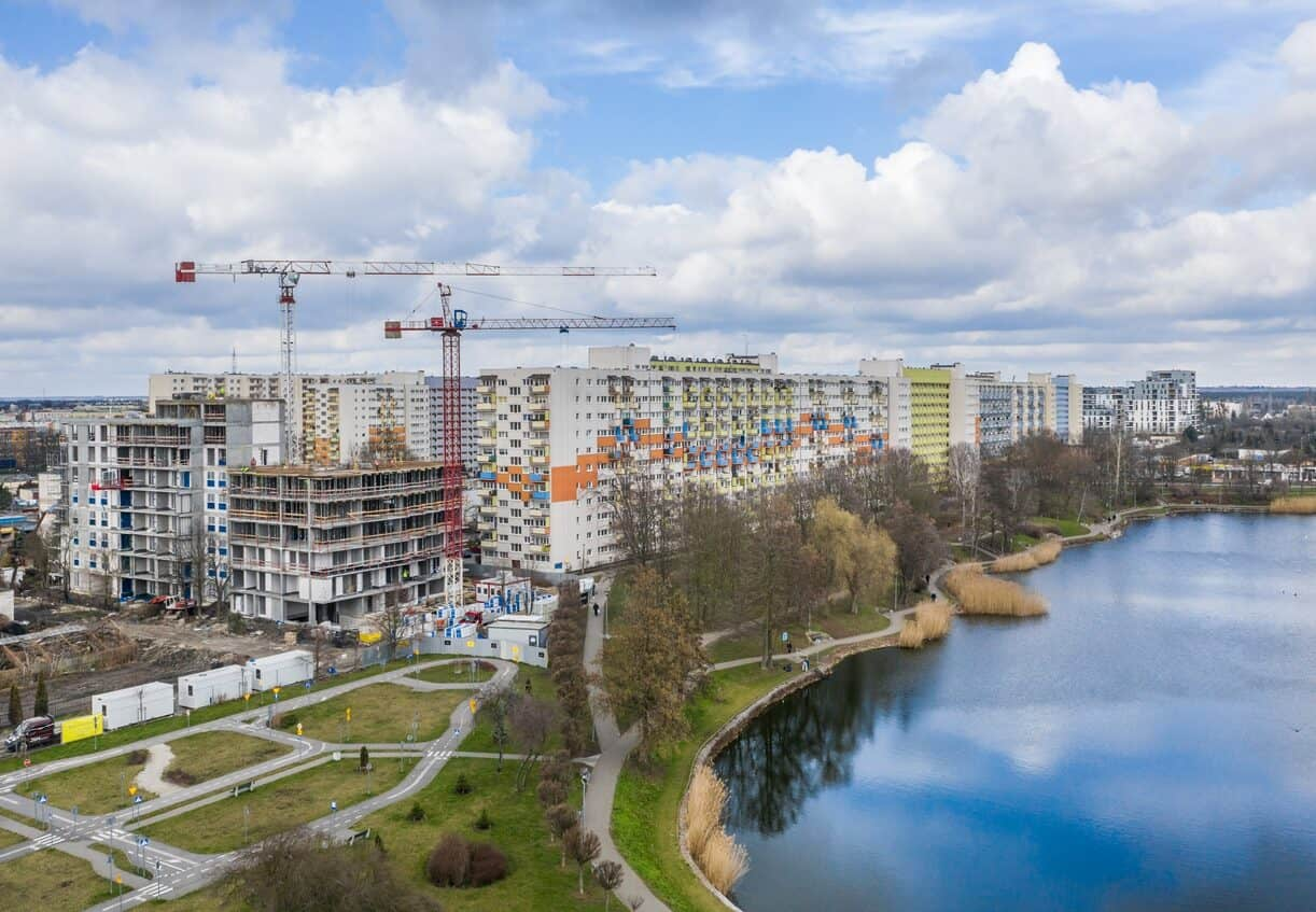 [Balaton Apartamenty] Apartamentowiec w Parku nad Balatonem